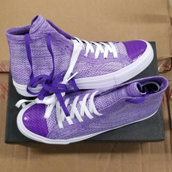 Converse Flyknit Lunarlon Hyper Purple